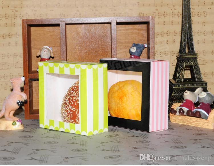 Wholesale food packaging box snack box Cake Party baby shower Bakery box west point cake box mousse Cake Boxes