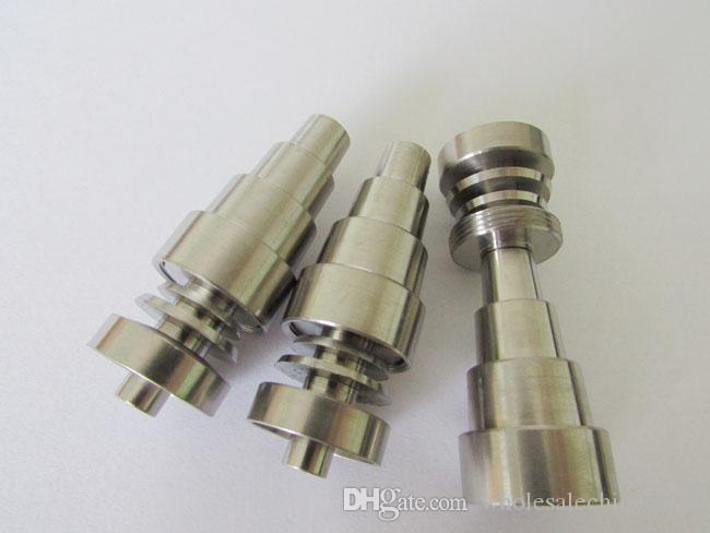Chiodo in titanio universale Infinity Domeless 14mm 18mm Chiodi in titanio senza olio Gr2, maschili o femminili, contro chiodi in ceramica