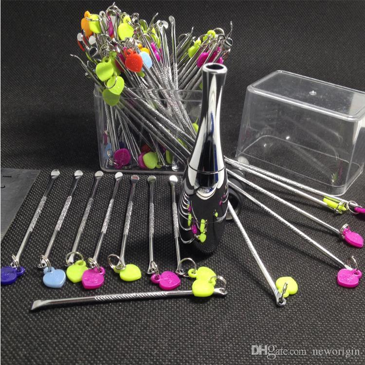 Wax dabber aracı ego aracı e çiğ paslanmaz çelik dab aracı tava buharlaştırıcı ve birçok / d tırnak / subox mini / subbox nano