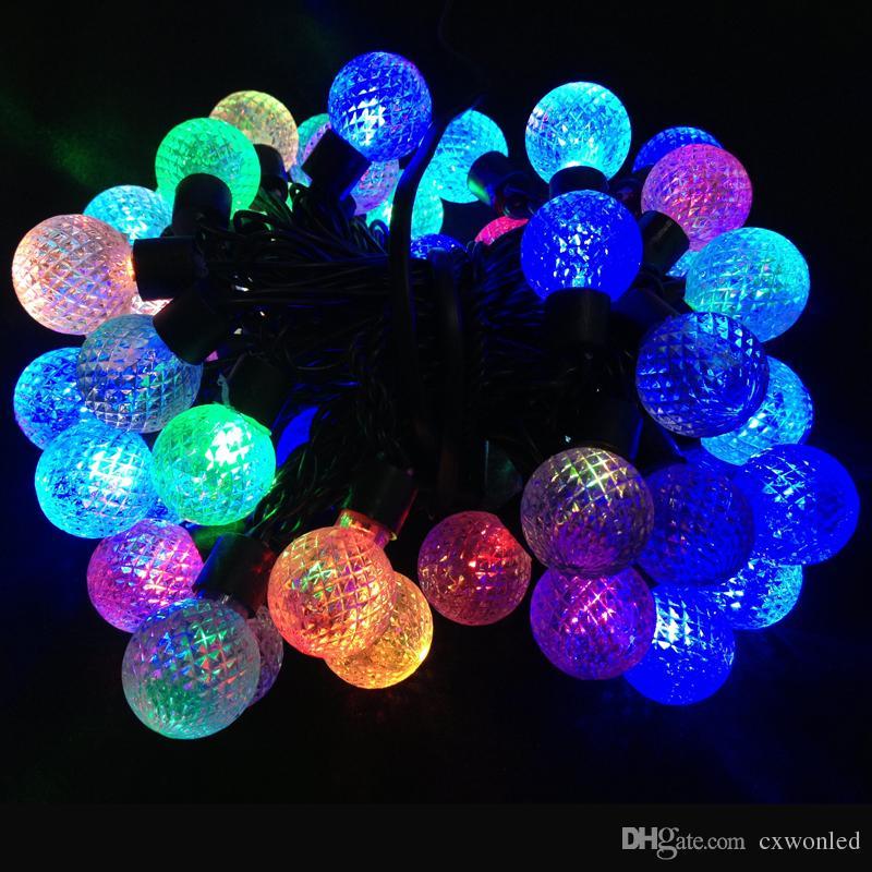 Luz de la secuencia del LED gran decoración para el mejor ornamento de la Navidad 5M longitud de la pelotilla cualquier modelo puede ser modificado para requisitos particulares Luz de hadas colorida