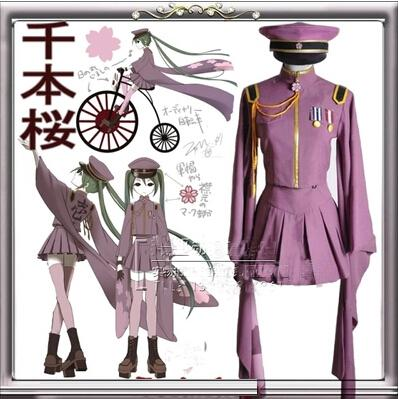 Halloween Costume For Women Anime Clothes Vocaloid Hatsune Miku