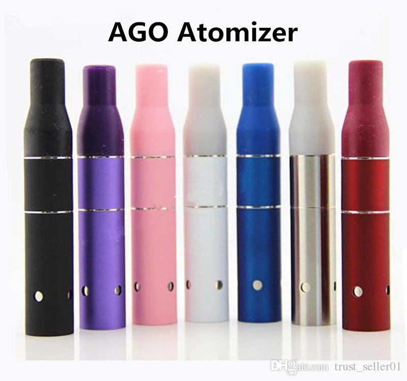Electronic Cigarettes eGo EVOD 3 in 1 starter Kit wax dry herb E-liquid Atomizers MT3 AGO G5 glass globe Vaporizer vape pens kits