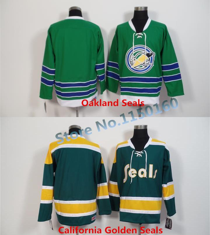 df712f993 ... 2017 factory outlet 1970 california golden seals jersey 1973 vintage  yellow green 1967 oakland seals