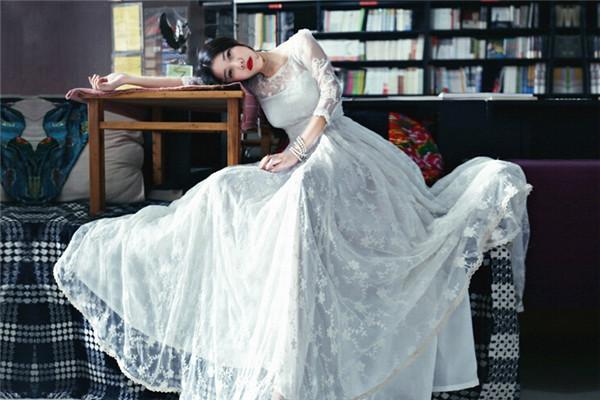 ドレス卸売2015年マキシドレスプリントフォールスーパーレトロレースドレス手動スイング気質女神ビーチ3/4スリーブサマードレス