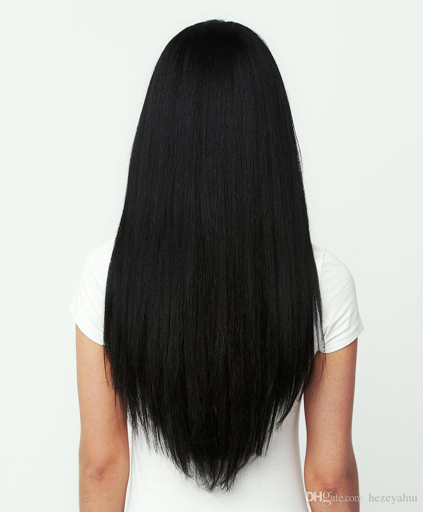 18 20 22 24 double wefted full head brazilian remy human hair clip see larger image pmusecretfo Gallery