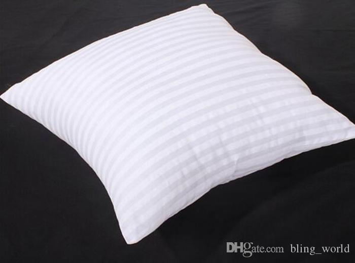 Denizkızı Yastıklar PP Pamuk Doldurulmuş Yastık Çekirdek sihirli yüz Yastık Çekirdek Polyester çizgili için Squre Yastık Ekler 45 * 45cm YW234 Kapaklar