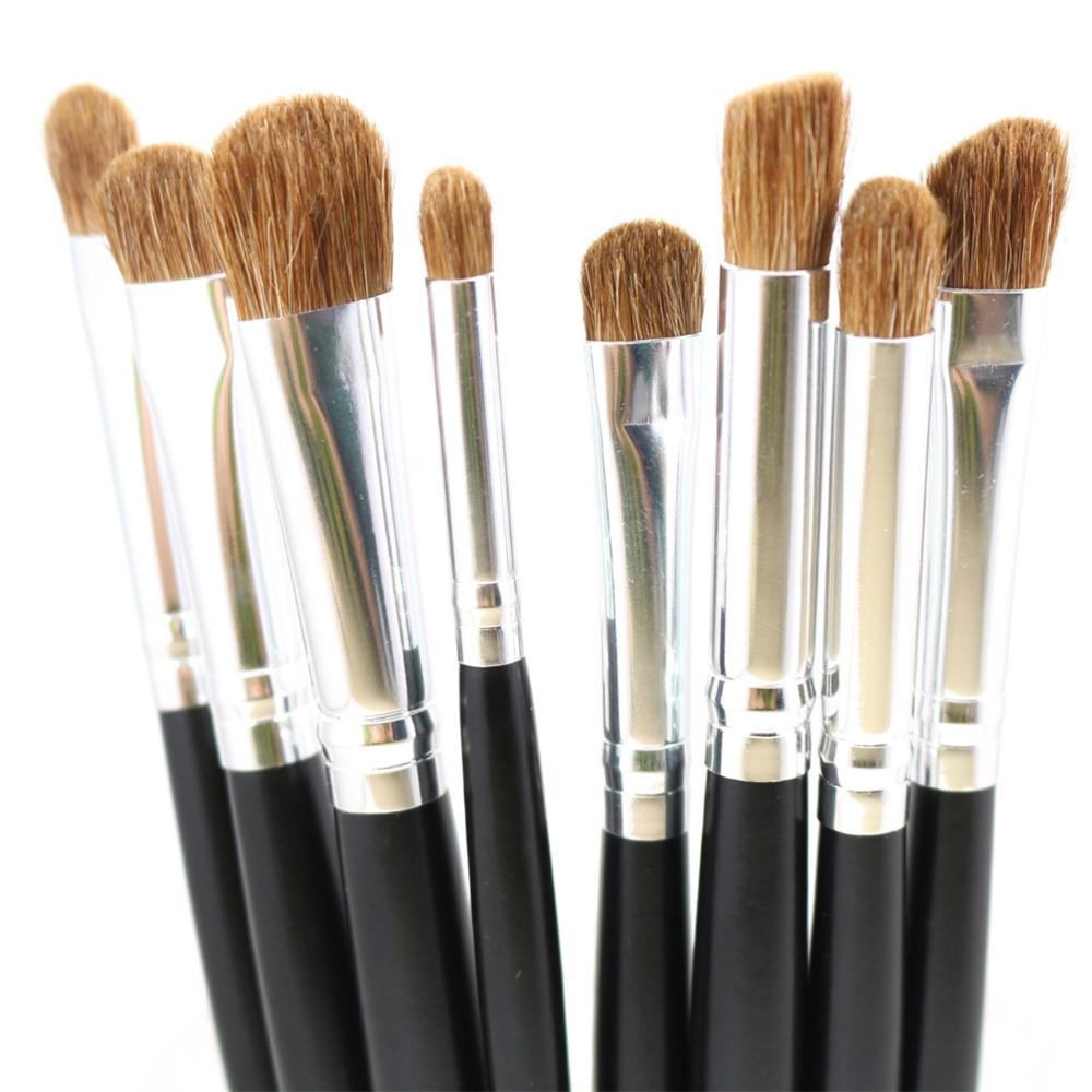 Premium Eye Makeup Brushes Set Nature Hair Eyes Shadow Contour Brush Blending Tools Kit Cases From Velacosmetics 518