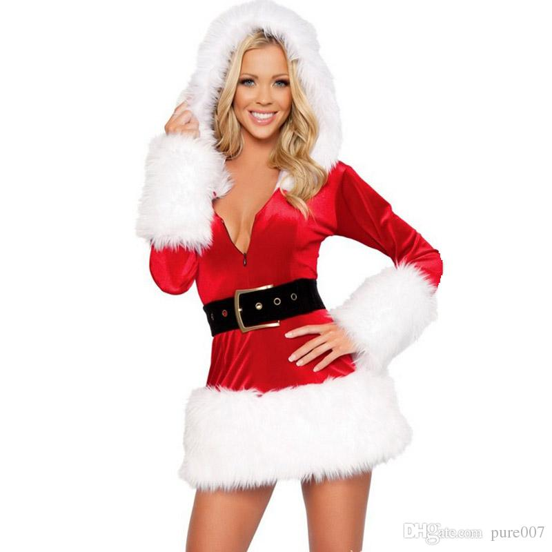sexy female costumes sexy santa outfit christmas outfit. Black Bedroom Furniture Sets. Home Design Ideas