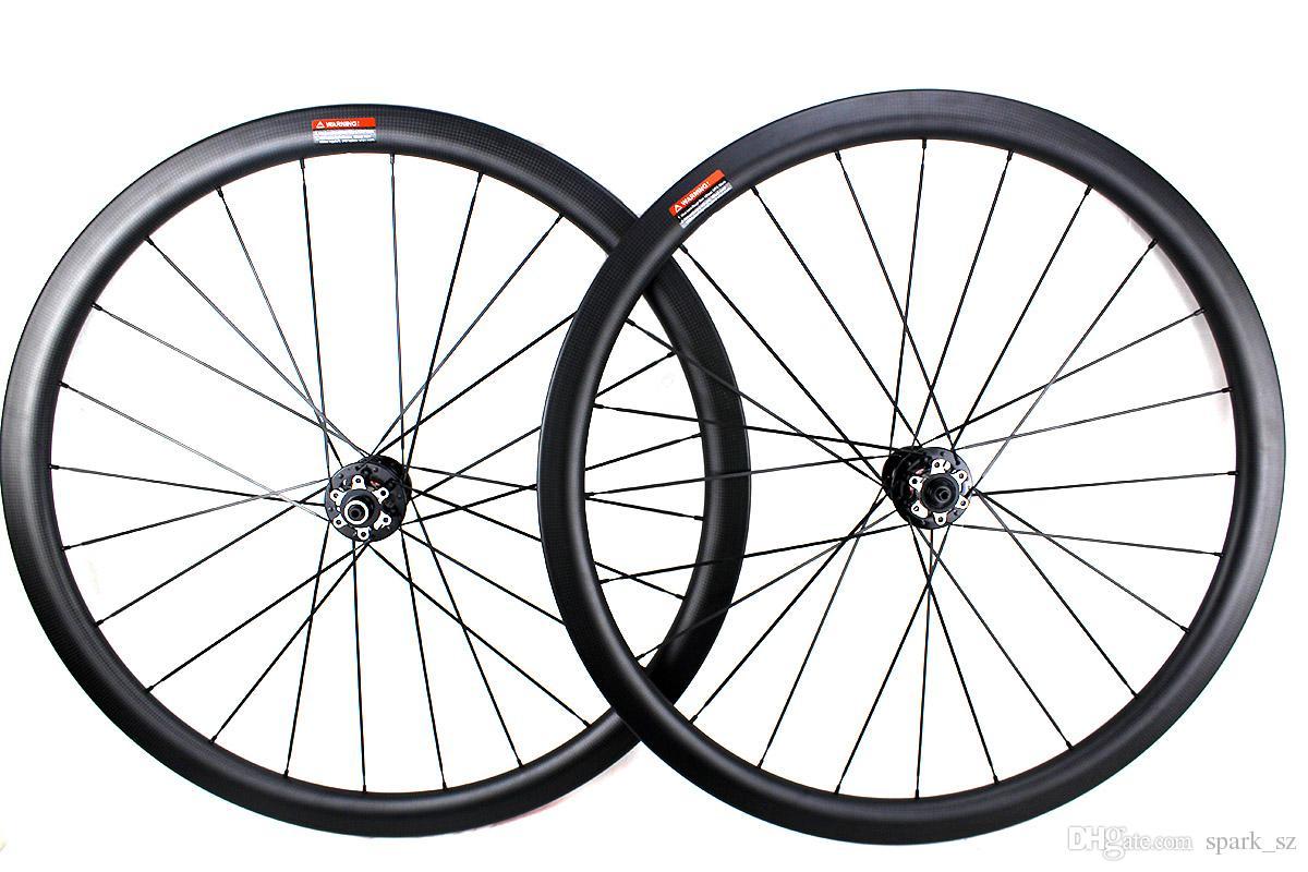 A fibra de carbono disco bicicleta de estrada rodas de freio 38 milímetros 50 milímetros 60 milímetros gancho bicicleta tubular rodado 700c 3K mate Largura da jante 25 milímetros