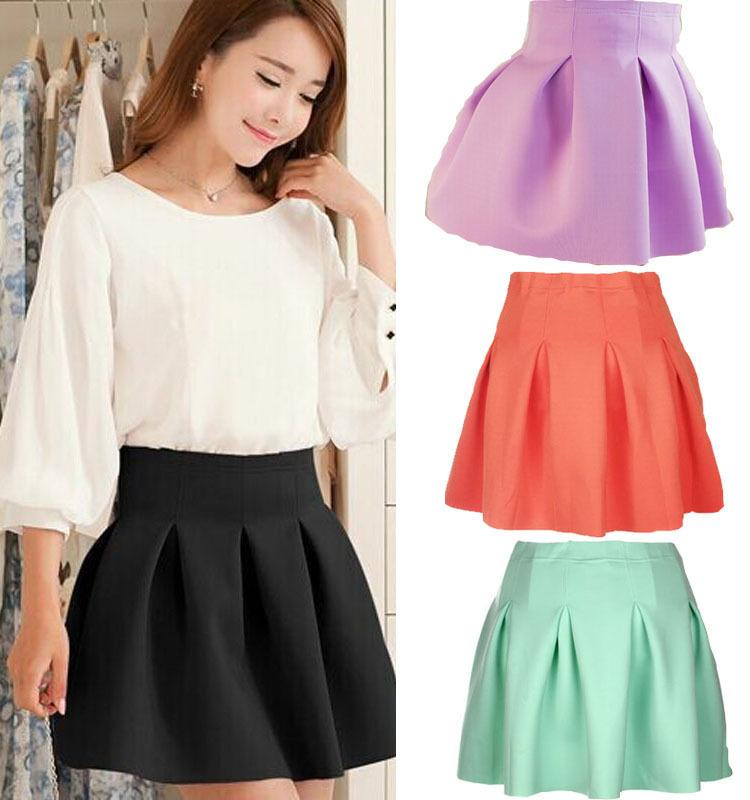 Discount 2015 Newest Women Skirts Spring Summer Skater Skirt ...