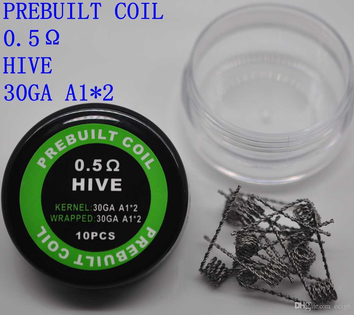 Heating Wires Clapton coil wire Hive Tiger Quad Twisted Flat twisted Mix twisted Fused clapton Alien For Vape RDA RBA MOD