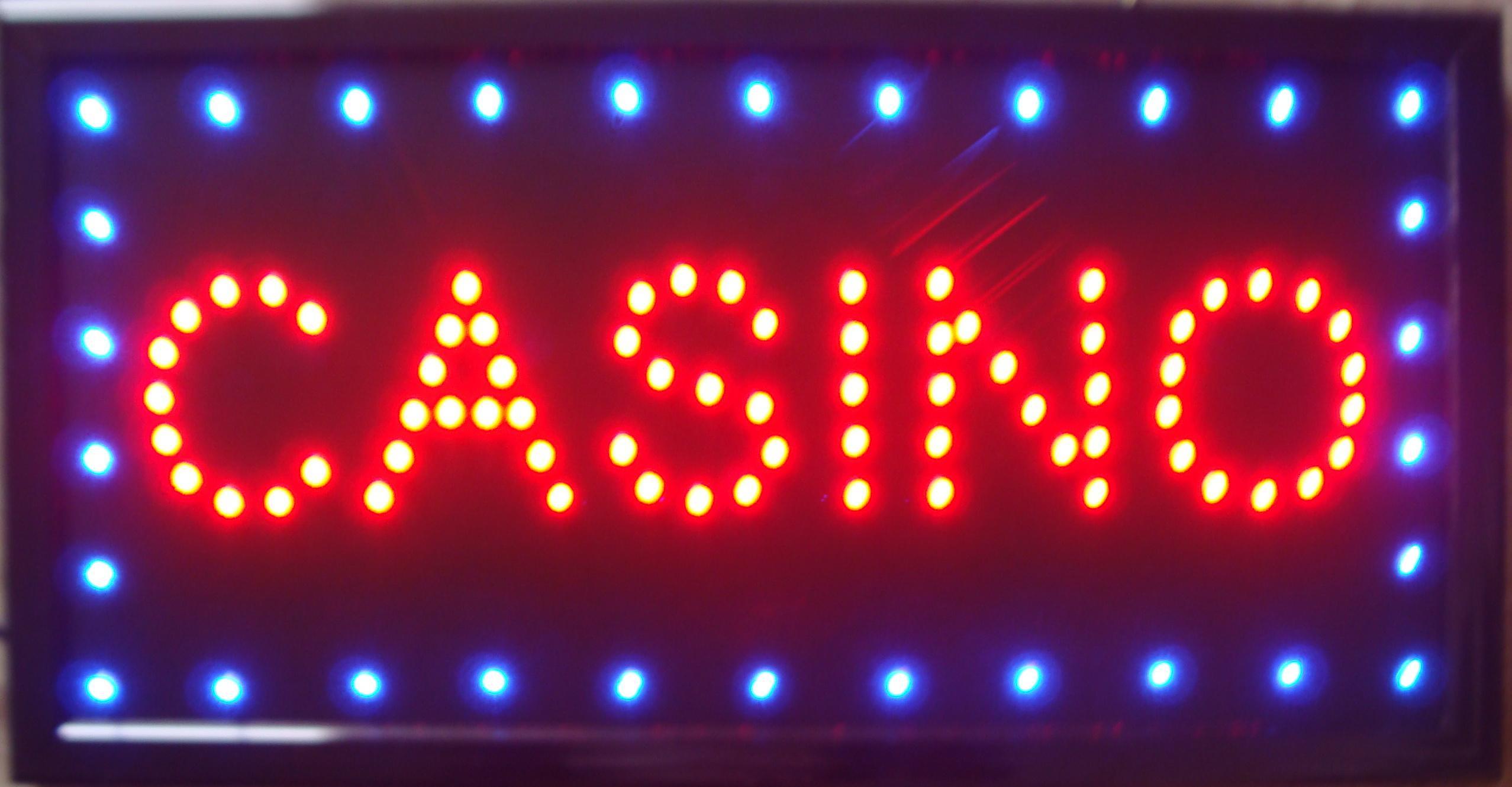 2018 2015 ultra bright led neon light animated led casino for Asino amiatino