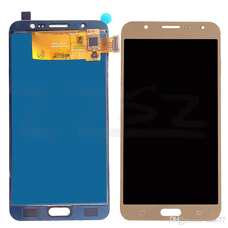 Super OLED Samsung Galaxy J7 Pro 2017 Display LCD J730 J730F con sostituzione dello schermo digitalizzatore touch con 2 anni di garanzia