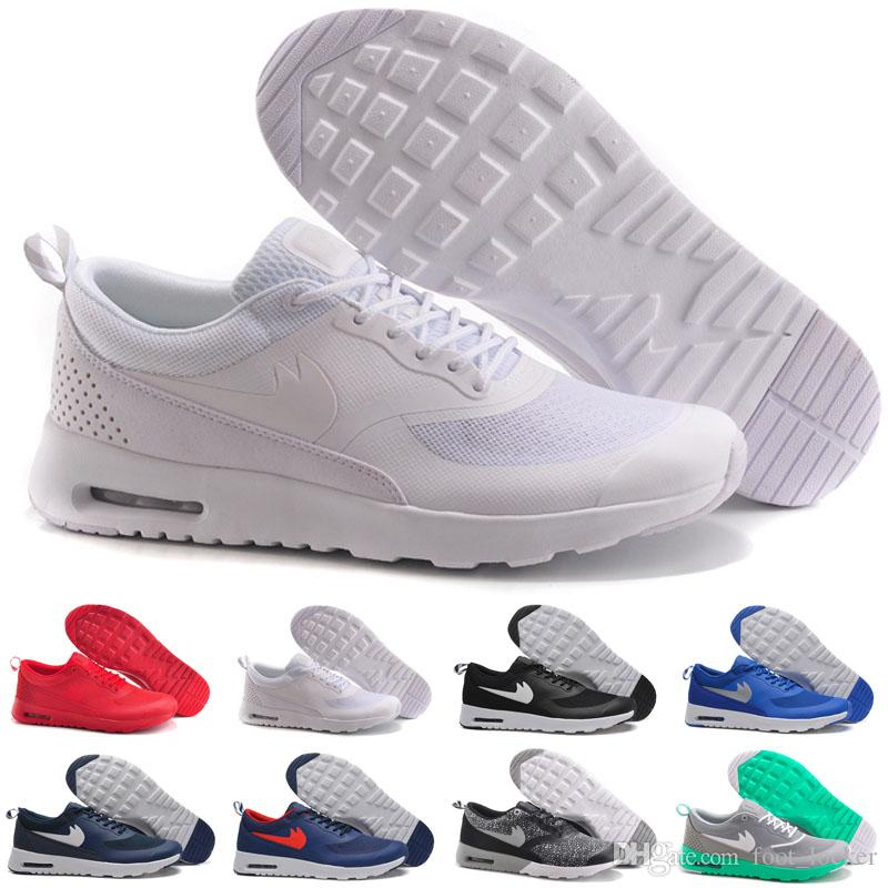 Cheap Hot Sale Running Shoes Thea Print Men High Quality Discount Trainers  Authentic Jogging Boots Maxes 87 Size Us 7 11 Kids Express Shoes Kids Deck  Shoes ...