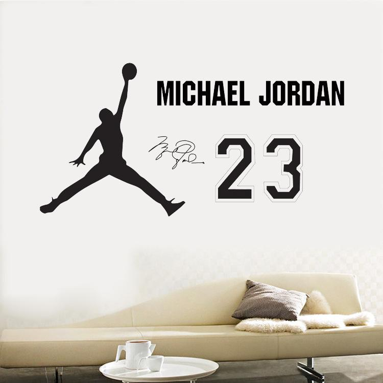 Removable Player Basketball Wall Decal Slam Dunk Basketball Players Wall  Stickers Murals Stick For Kids Room Child Bedroom Classroom Wall Sticker  Sport ...