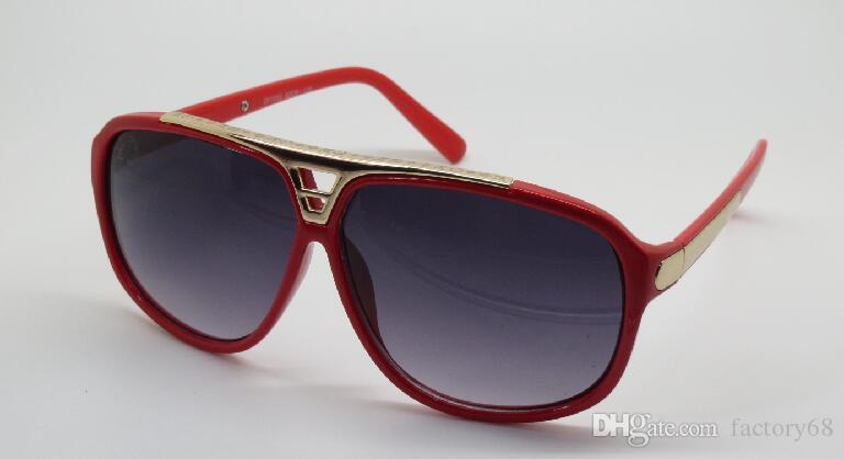 Prezent Nowa Quaity Gorąca Sprzedaż Darmowa Wysyłka High Pani Okulary przeciwsłoneczne Mężczyźni Kobiety Sunglasses Z0105 Ochrona UVA.