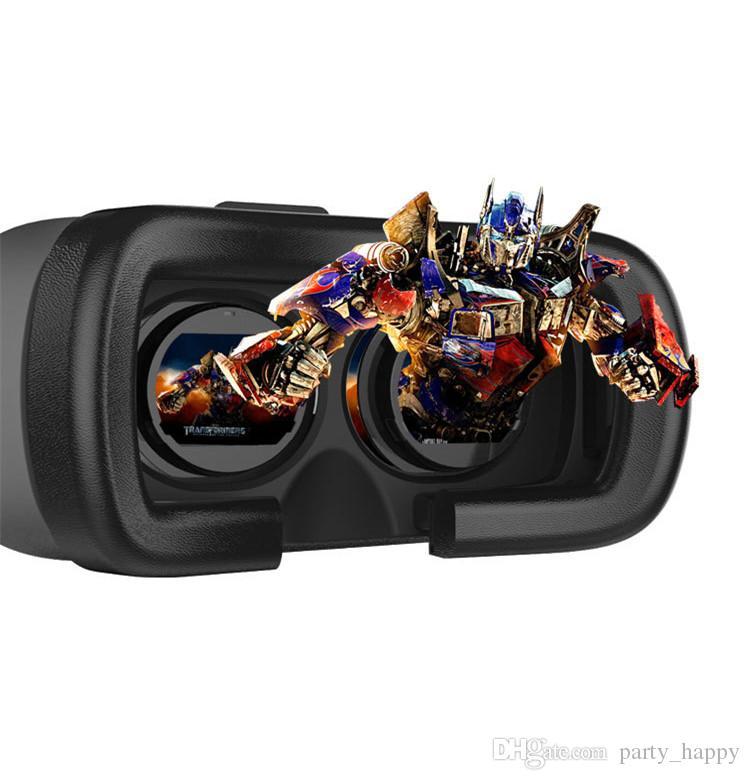 Мобильный телефон 3D очки + пульт дистанционного управления виртуальной реальности очки шторм общие носить твердый трехмерный зеркало 3D очки костюм