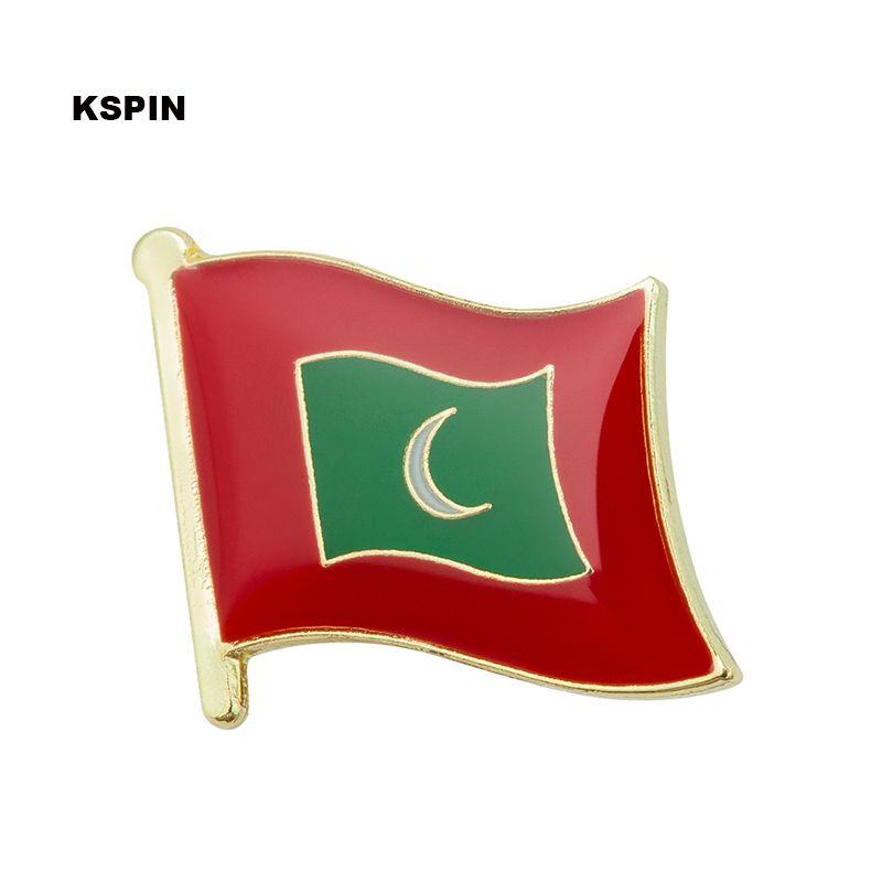 Trasporto libero il perno della bandiera del distintivo della bandiera del metallo della Malesia KS-0114