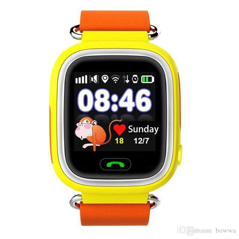 Q90 Bluetooth Smartwatch with GPS WiFi LBS for iPhone IOS Android Smart Phone Wear Clock Wearable Device Smart Watch