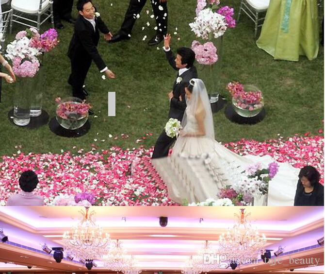 18%OFF Rose Petals Simulation Cherry Blossom Petals Wedding Petals Fake Artificial Flower Home And Wedding Decor