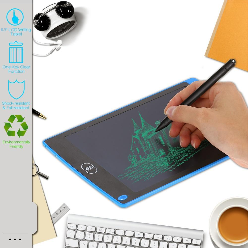 "8.5"" LCD Writing Tablet Digital Portable 8.5 Inch Drawing Tablet Handwriting Pads Electronic Tablet Board for Children Kids deaf mute Adults"