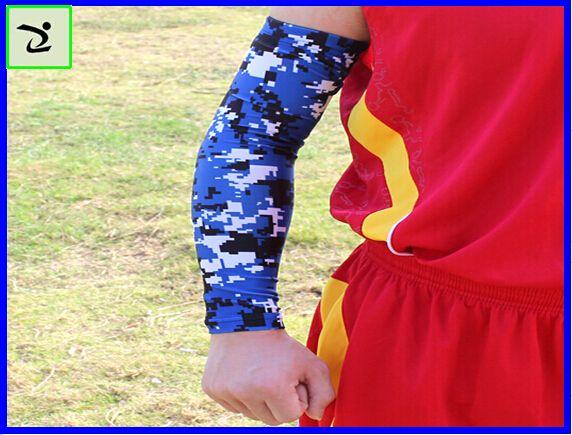 Royal Yellow White Digital Camo Arm Sleeve youth and Adult for Football Basketball Baseball compression arm sleeve