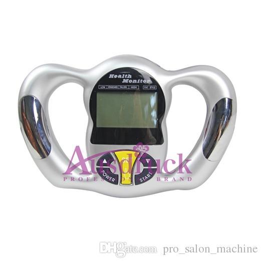 미니 휴대용 건강 체형 측정기 계산기 디지털 체지방 분석기 건강 모니터 BMI 측정기 장치