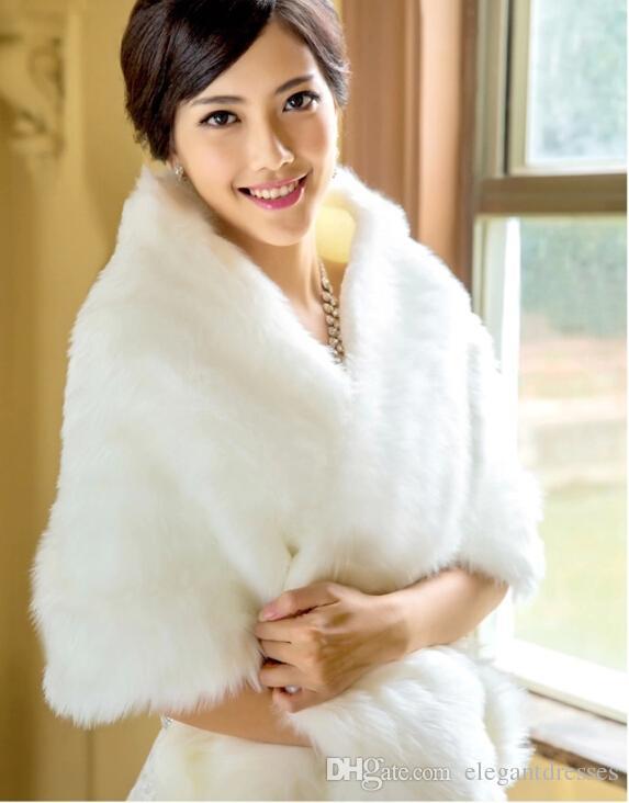 Barato 2021 Nuevo diseño White Wedding Wrap The White Wrap Wedd Wedd Weddal Special Occion Shawl