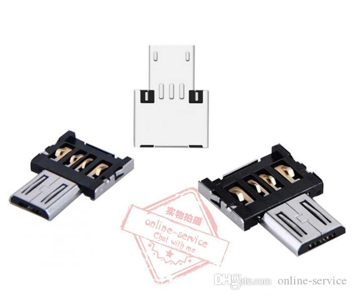 Micro USB zu USB OTG Adapter 2.0 Konverter für Android Samsung Galaxy S3 S4 S5 Tablet PC zu Flash Maus Tastatur