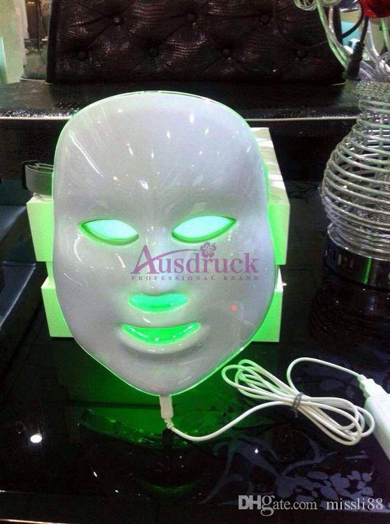 PDT Photon LED Facial Mask Skin Rejuvenation Machine Red Blue Green Light Therapy for Facial Tightening Acne Wrinkle Removal