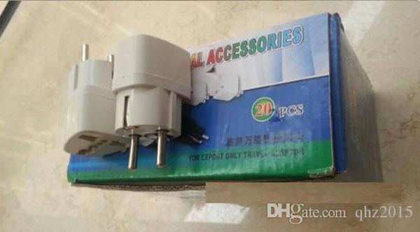 Universal Travel Adapter Australia AU / USA US / UK to EU Plug Wall AC Power Adapter 250V 10A Socket Converter