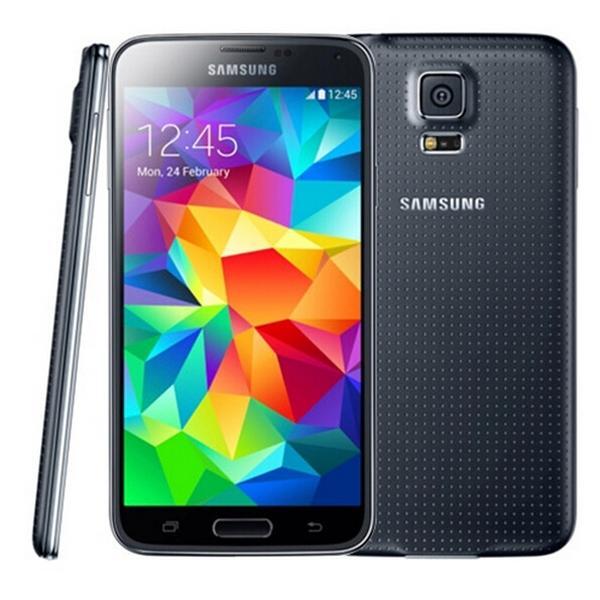 تم تجديده الأصلي Samsung Galaxy S5 G900A G900T رباعية النواة 2GB RAM 16GB ROM 4G LTE الهاتف غير مقفلة
