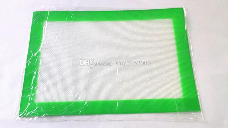 Estera antiadherente de la hornada del silicón fijó la estera 292mmX215m m de la hornada del silicón de la categoría alimenticia