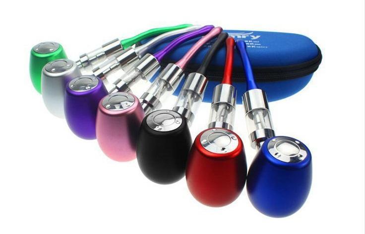 K1000 E Kit Pipe Mécanique Mod Kit K1000 Pipe Cigarette Electronique Cigarette E 18350 900mAh Batterie dans un étui à fermeture éclair Toutes les couleurs Instock
