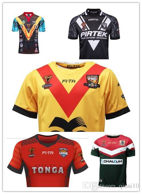 1676b84b520 2019 RLWC 2017 MENS PAPUA NEW GUINEA JERSEY League World Champions In 2017  PAPUA NEW GUINEA 2017 WORLD CUP HOME JERSEY New Zealand LEBANON Rugby From  ...