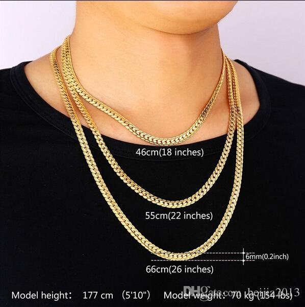 Neue Trendy 18 Karat Stempel Halskette Set Männer Schmuck Großhandel 18 Karat Reales Gold Überzogene Kette Halskette Armband Afrikanischen Schmuck Sets S374
