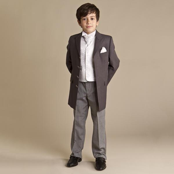 Handsome boy dress flower children's wear a suit Coat + pants + vest Suit of a complete set of special occasions