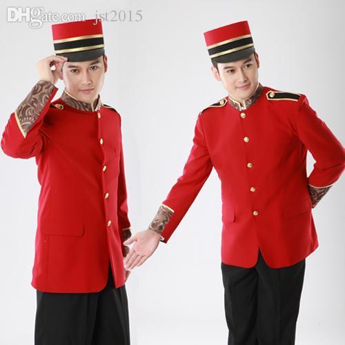 2019 Wholesale 2015 Newest Modern Hotel Bellboy Uniform