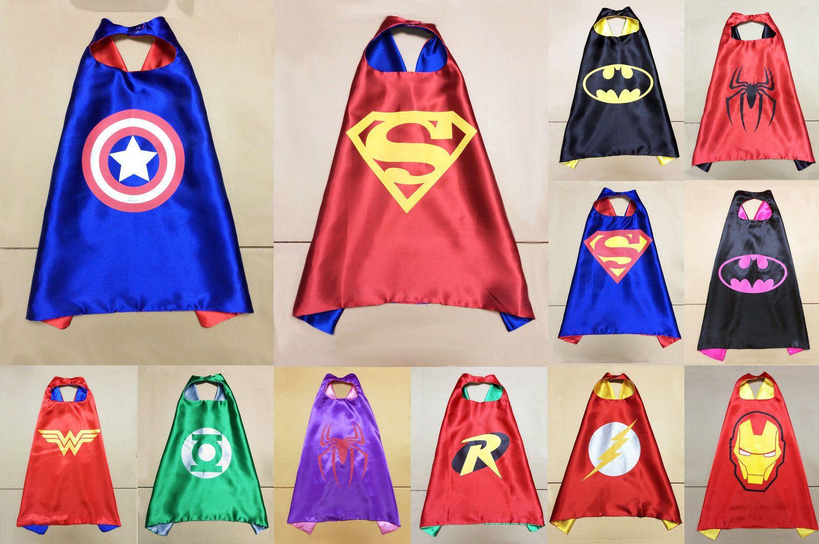 new print logo custom superhero cape boys costume superhero fancy rh dhgate com Superhero Costumes for Men Female Superhero Costumes