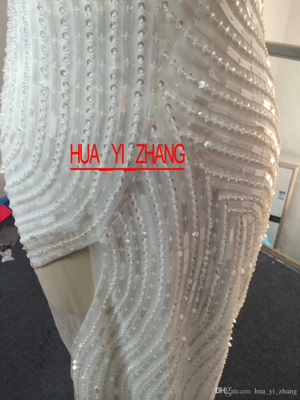 2015 Suknie wieczorowe Bling Bling Vestidos de Fiesta Cekiny Luksusowe Zroszony Organza Tulle Suknie Wieczorowe Dhyz 01