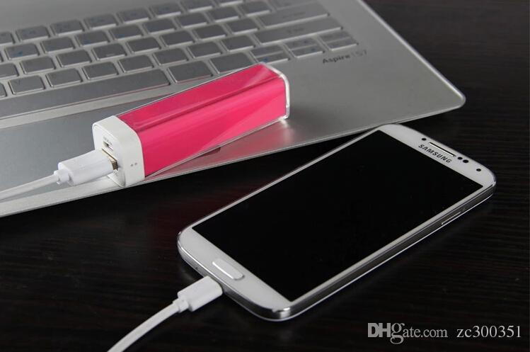 High Quality 100% Original 2600 mAh Power Banks, Hot Selling 5V 1A 2600mAh Power Bank For Smartphones And Tablets XiaoMi