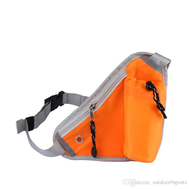 Outdoor Travel Anti-theft Pockets Riding Waist Bags Running Sports Water Bottle Waist Pockets Fitness Exercise Purse Mountaineering Pockets