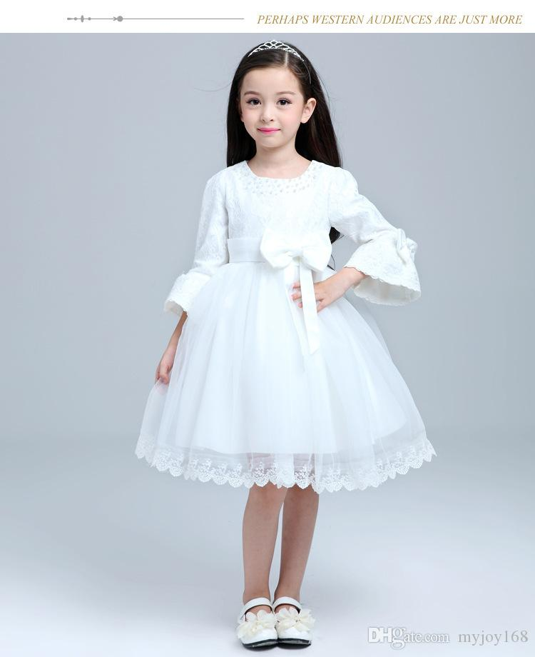 2015 Kids Wedding Dresses, Pageant Party Dresses Girl, Performance ...