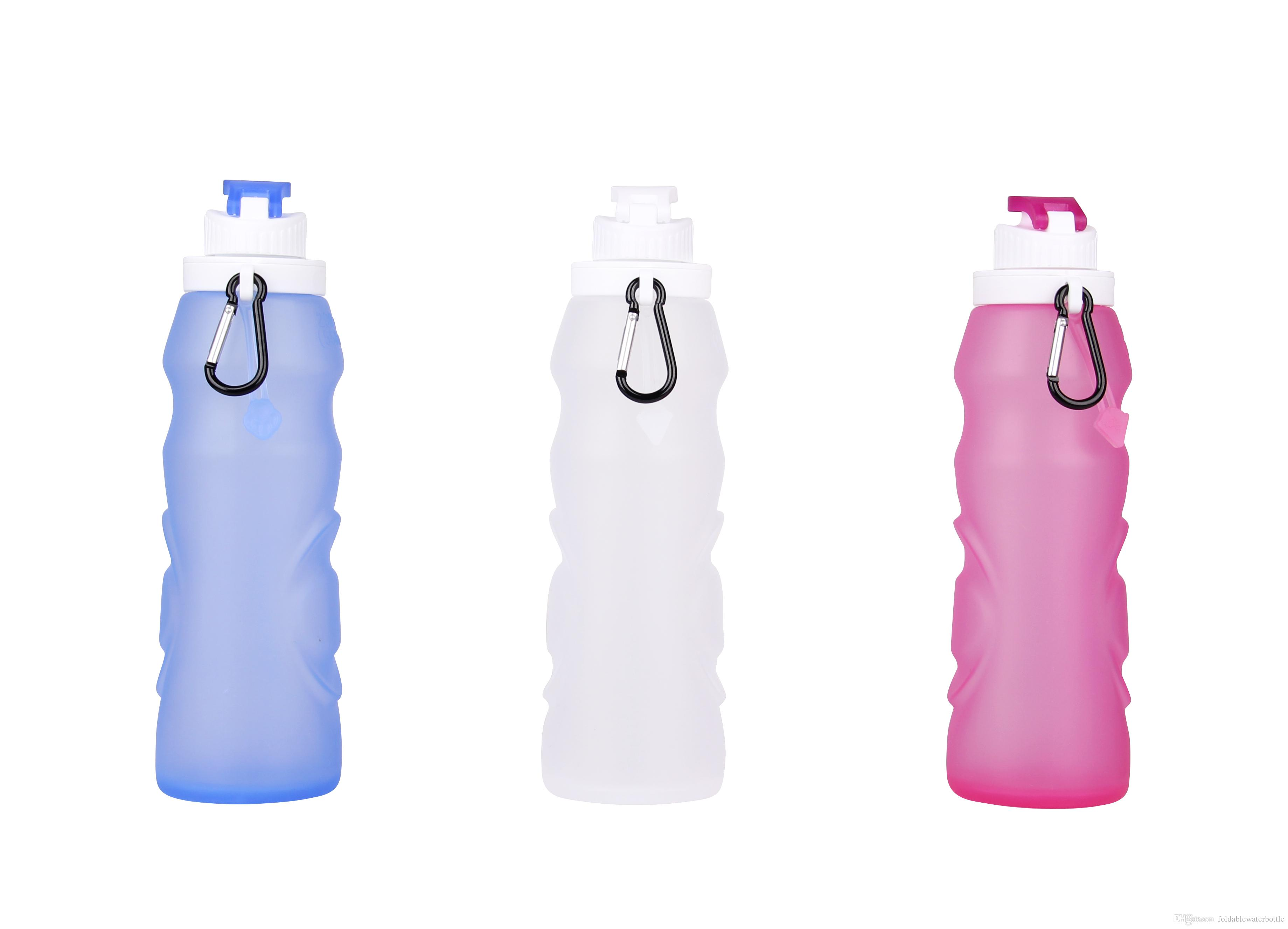 Silicone Water Bottle Purification Survival Filters Reusable Bpa