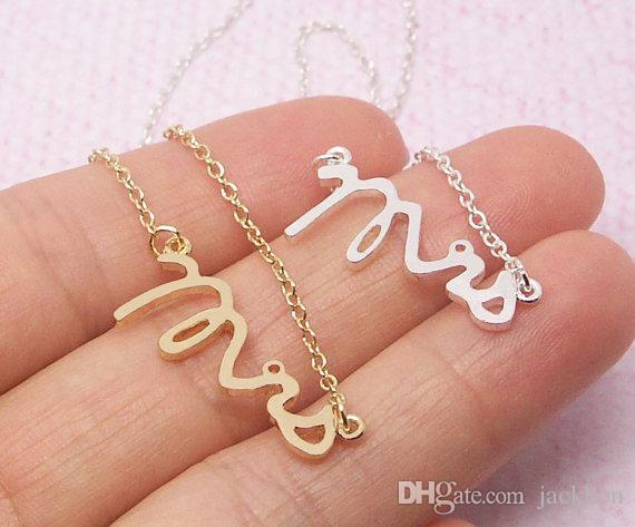 - B030 Gold Silver Simple Dainty Mrs Bracelet Small Stamped Word Bracelet Tiny Love Initial Alphabet Letters Bracelets