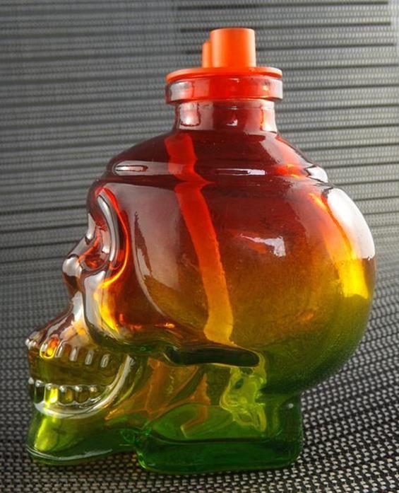 2018 Fab egg Glass bong Skull Glass Bong water pipe Small glass hookah bowl oil rigs