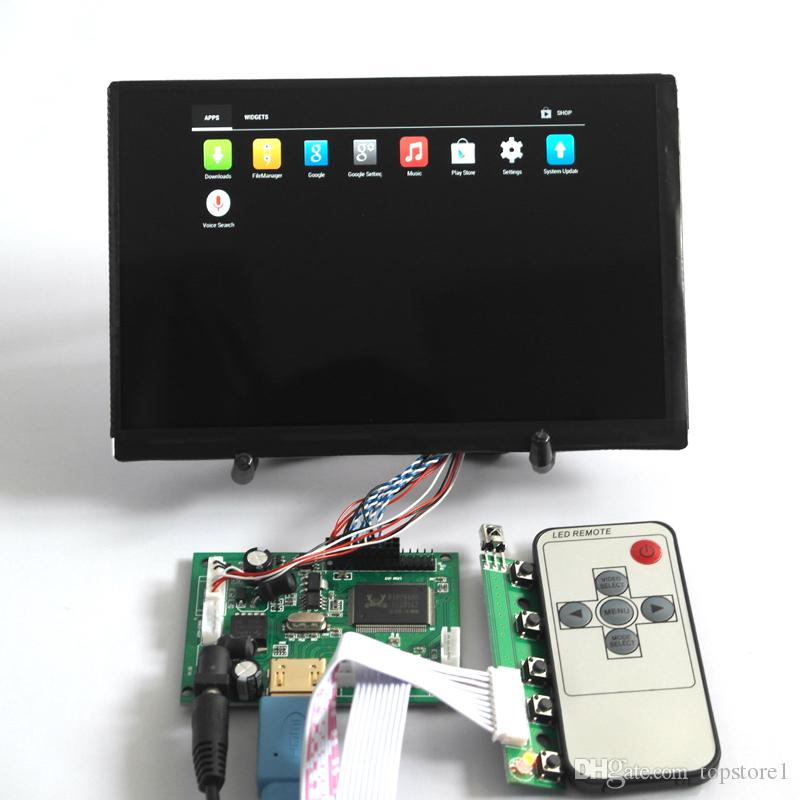 Universal HDMI LVDS LCD Module Controller Board Monitor Kit with Remote  Control 7 inch 1280*800 N070ICG-LD1 HD LCD Display free shipping