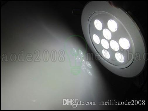 Alta Qualidade 3W de 4W 5W 7W 9W 15W 18W LED embutida de teto baixo luz Spot lâmpada Lâmpada AC 85-265V interior LLWA023 Motorista Downlight Com LED