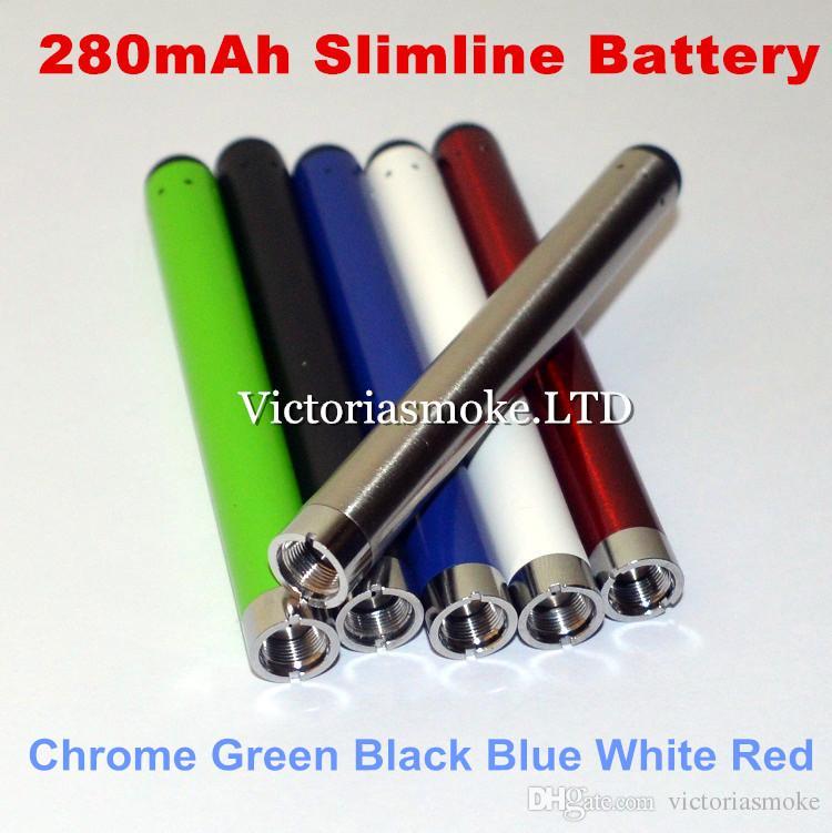 Fourni à l'usine CE3 O-stylo vape bourgeon tactile batterie 280 mAh e cig 510 fil e cigarettes pour vaporisateur de cartouche d'huile de cire DHL Free