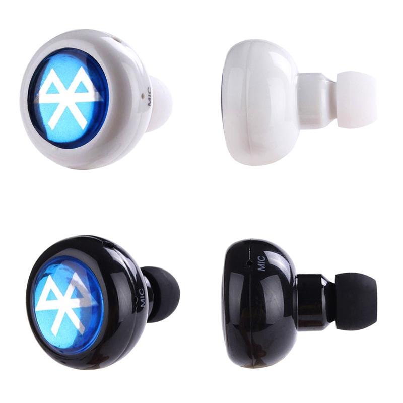 bluetooth phone wireless earbuds headset earphone mini ear headphones samsung iphone audio headsets stereo mobile headphone smart head hands cell
